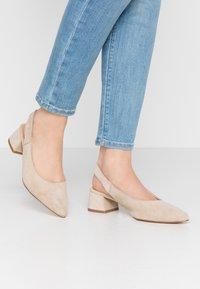Esprit - KEAN SLING - Classic heels - beige - 0
