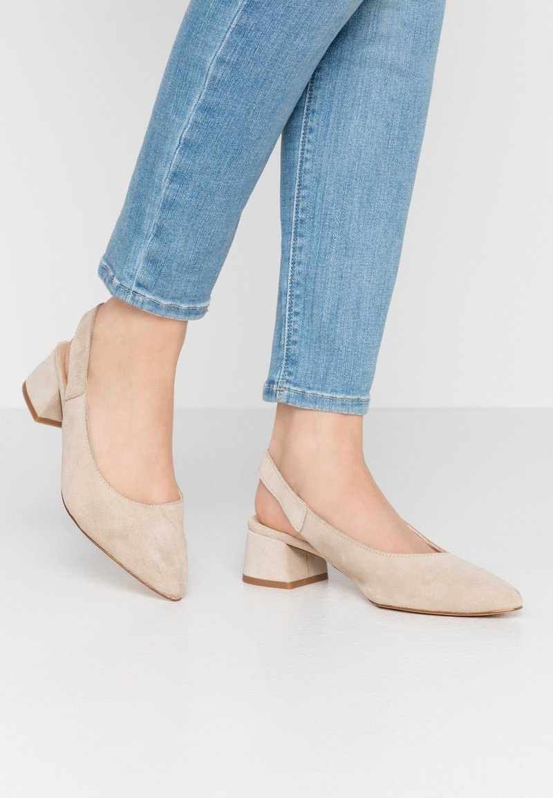 Esprit - KEAN SLING - Classic heels - beige