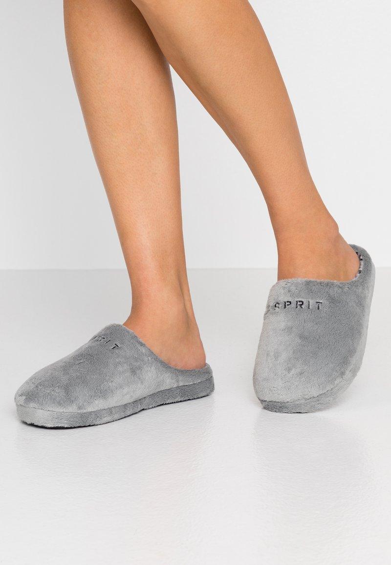 Esprit - STITCHY MULE - Tofflor & inneskor - grey