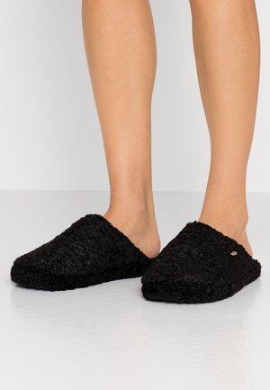 DONI PERS MULE - Pantoffels - black