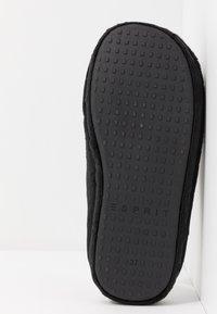 Esprit - STITCHY LEOMULE - Pantoffels - black - 6