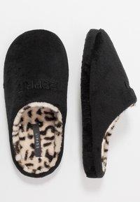Esprit - STITCHY LEOMULE - Pantoffels - black - 3