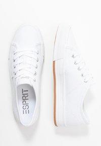 Esprit - SIMONA LACE UP - Tenisky - white - 3