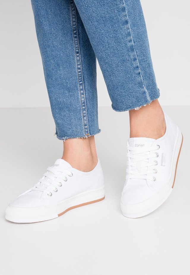 SIMONA LACE UP - Sneaker low - white