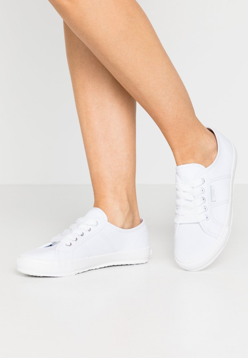 Esprit - ITALIA LACE UP - Trainers - white