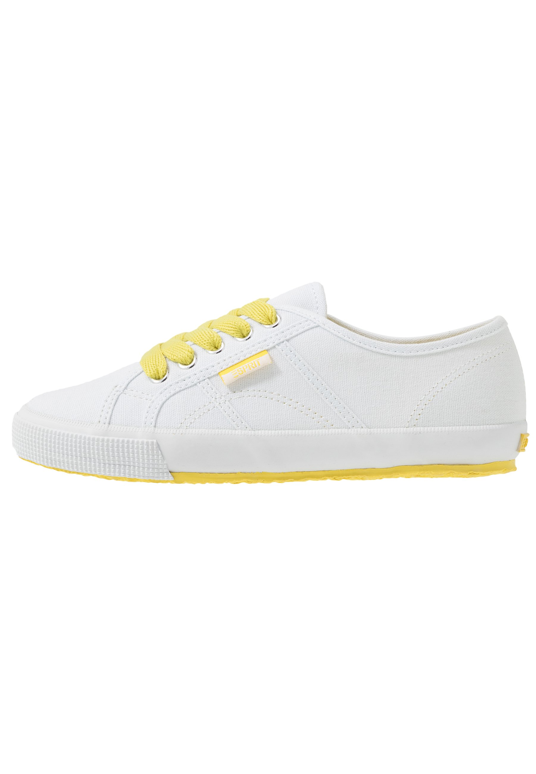 Esprit ITALIA LACE UP - Trainers - bright yellow