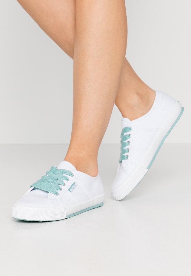 ITALIA LACE UP - Tenisky - light aqua green