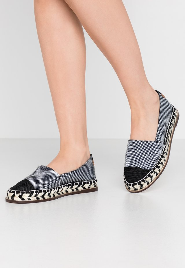 OLGA SLIP ON - Espadrille - black