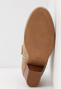 Esprit - DADY WAVE - Kotníková obuv - beige - 6