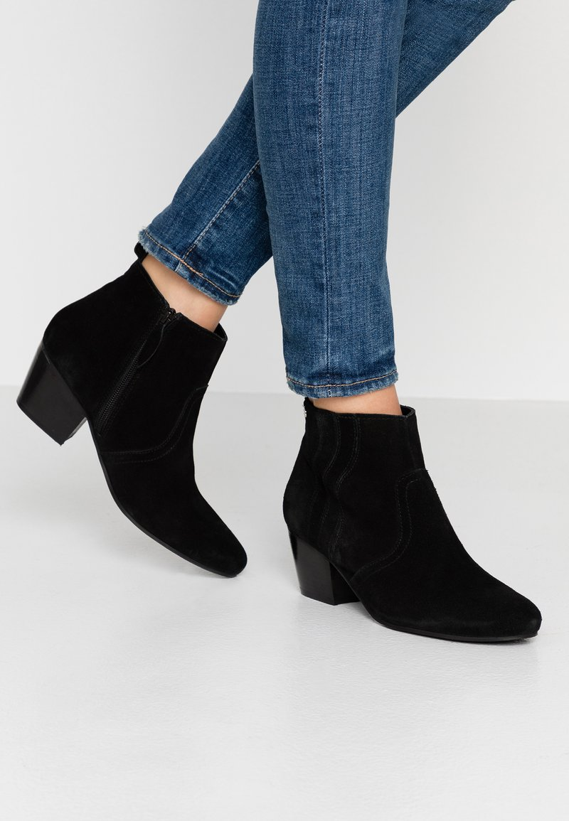 Esprit - DADY WAVE - Kotníková obuv - black