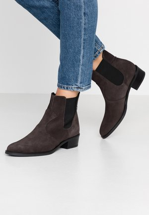 CORALLA BOOTIE - Classic ankle boots - dark grey
