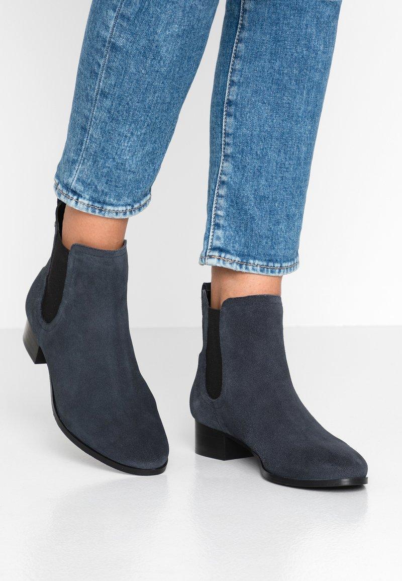 Esprit - EBLES BOOTIE - Classic ankle boots - navy
