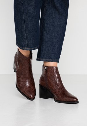 GHIGA - Ankle boots - dark brown