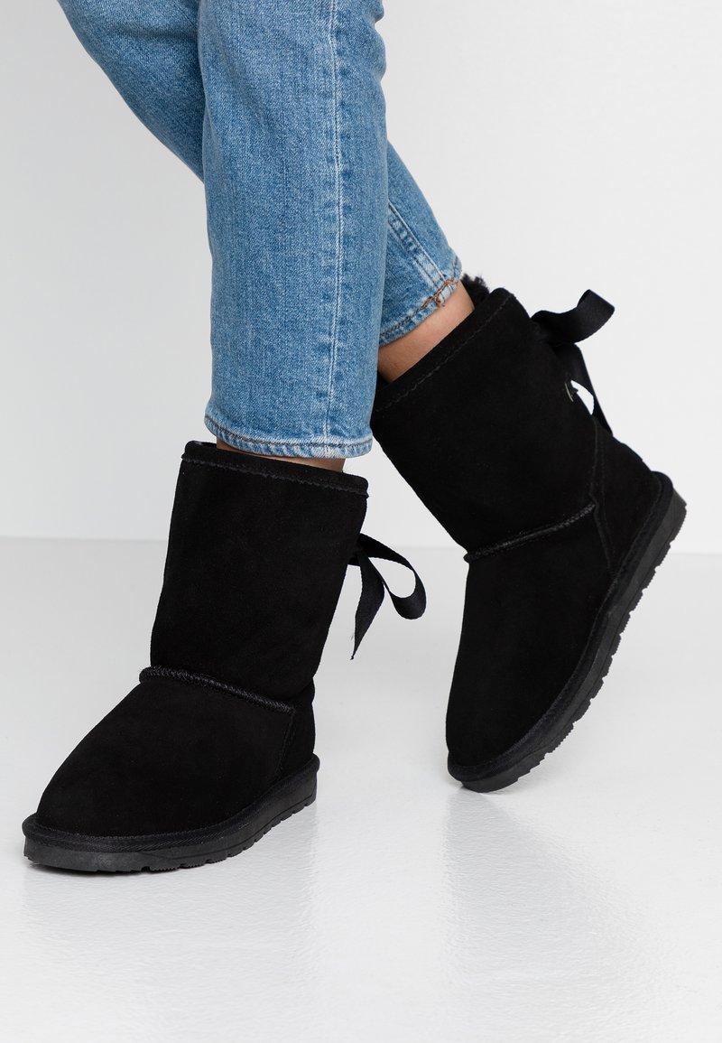 Esprit - LUNA BACK - Kotníkové boty - black