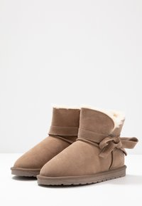 Esprit - LUNA BOW BOOTIE - Bottines - toffee - 4