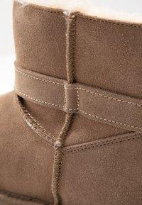 Esprit - LUNA BOW BOOTIE - Kotníkové boty - toffee - 2