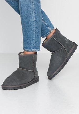 LUNA BOOTIE - Winter boots - dark grey