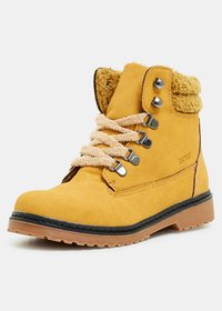Esprit - Bottines à lacets - brass yellow - 1