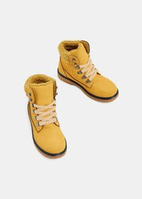 Esprit - Bottines à lacets - brass yellow