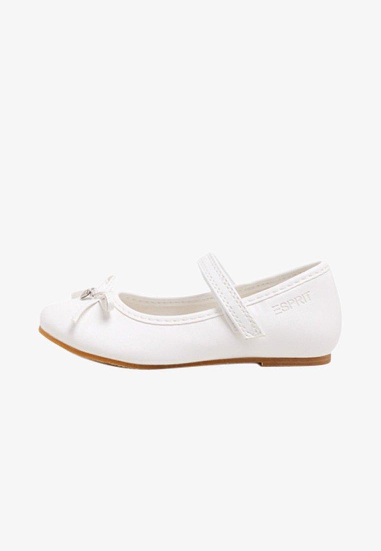 Esprit - MIT KLETT-RIEGEL - Riemchenballerina - white