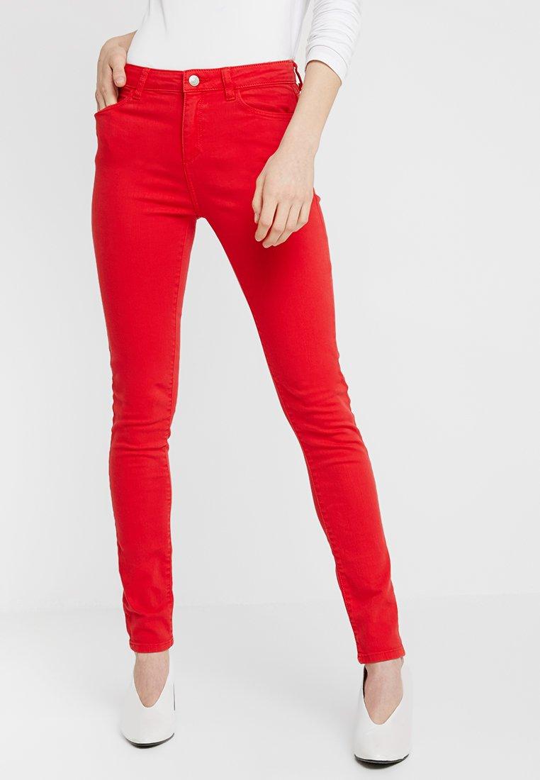 Esprit - Jeans Skinny Fit - red