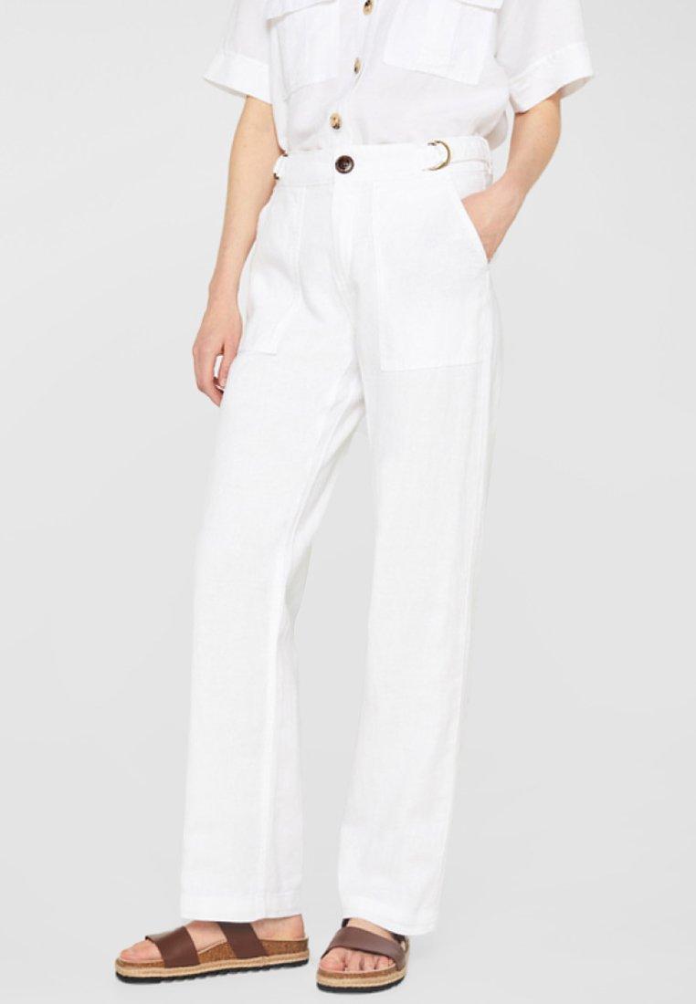Esprit - Stoffhose - white