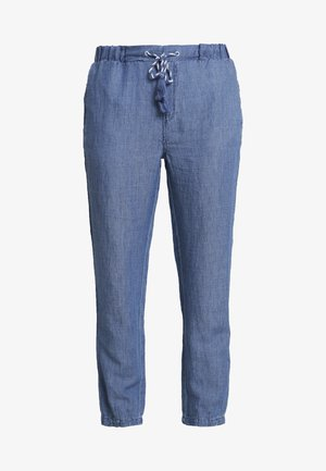Tygbyxor - blue medium wash
