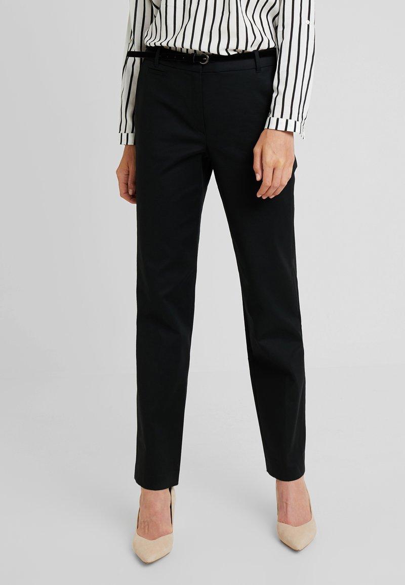 Esprit - MR WEEKEND - Trousers - black