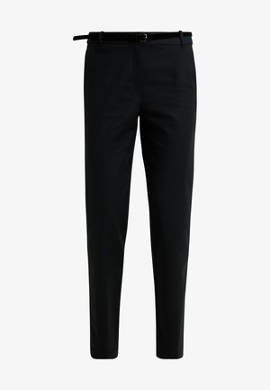 MR WEEKEND - Pantalon classique - black