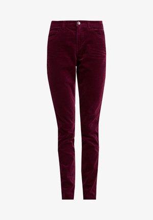 Kalhoty - garnet red