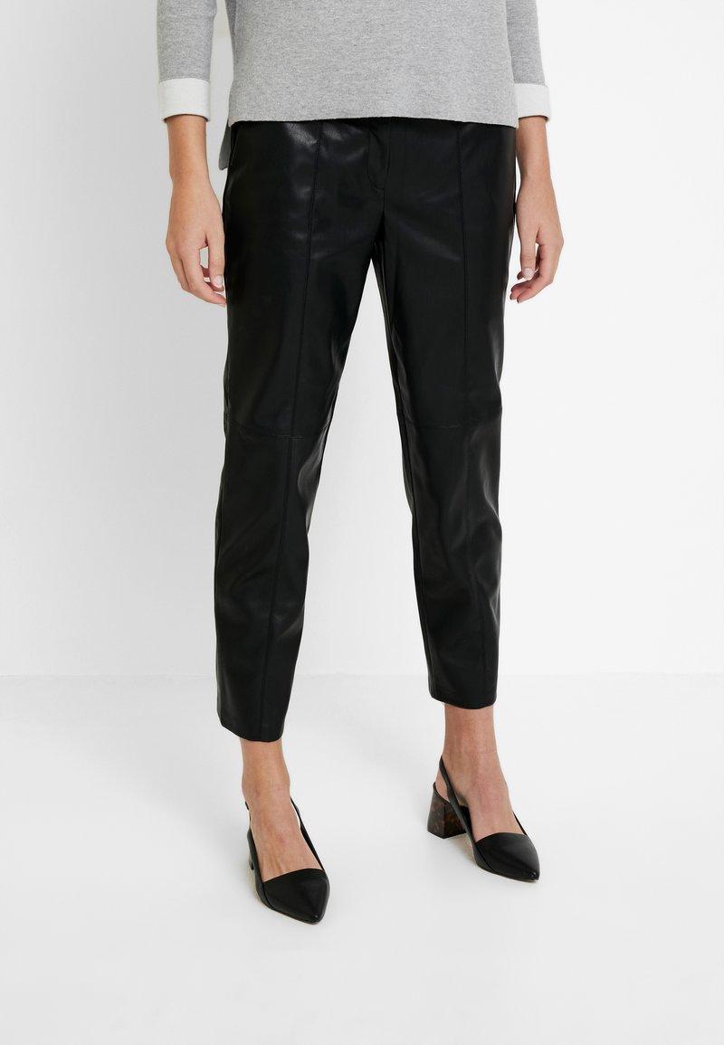 Esprit - CIGARETTE - Broek - black