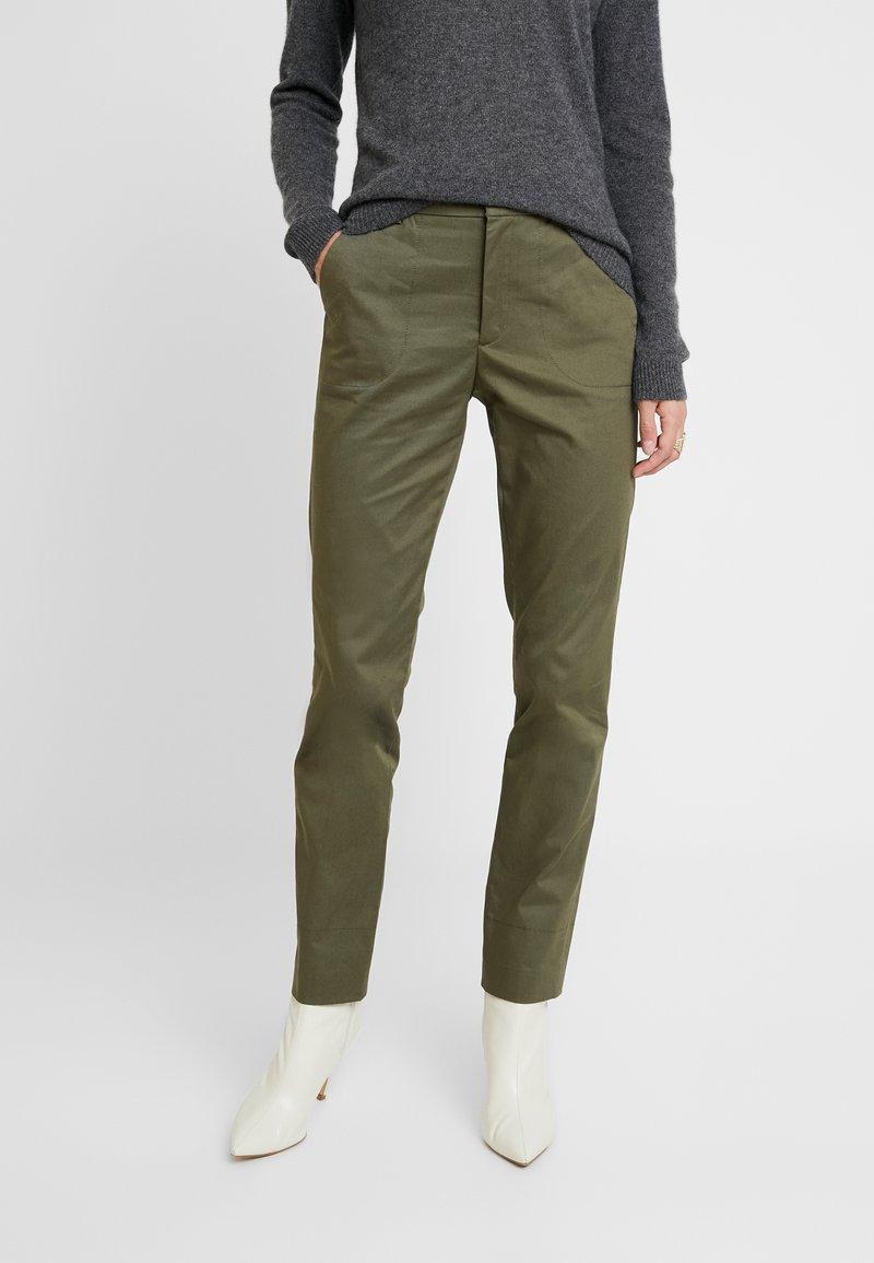 Esprit - UTILITY - Chino - khaki/green