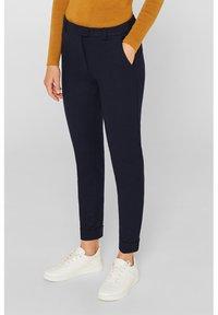 Esprit - Pantalon classique - navy - 0