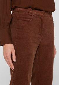 Esprit - Broek - dark brown - 4