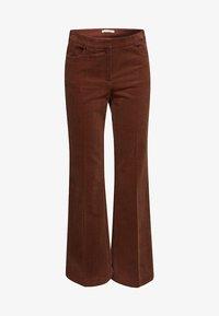 Esprit - Broek - dark brown - 7