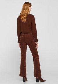 Esprit - Broek - dark brown - 2