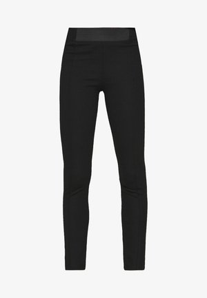PUNTO PANT - Leggings - Trousers - black