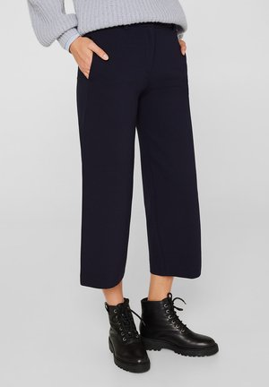 CULOTTE - Trousers - navy