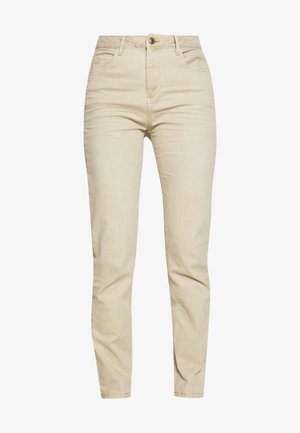 MODERN - Jeans Tapered Fit - beige