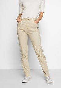 Esprit - MODERN - Jeans Tapered Fit - beige - 0