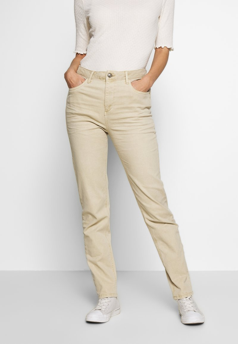 Esprit - MODERN - Jeans Tapered Fit - beige