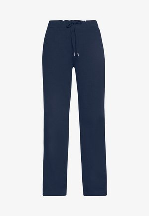 SOLID PANTS - Trousers - navy