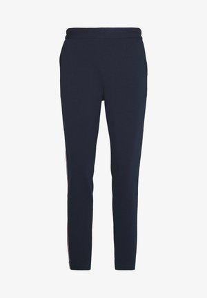 STICHED JOGGER - Spodnie materiałowe - navy