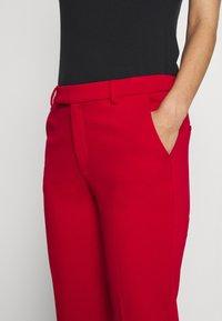 Esprit - SMART CHINO - Bukse - dark red - 5
