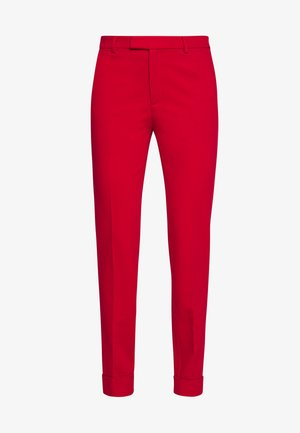 SMART CHINO - Pantalon classique - dark red