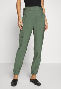 Esprit - UTILITY PANT - Bukse - khaki green - 0