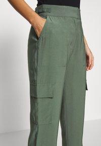 Esprit - UTILITY PANT - Bukse - khaki green - 3