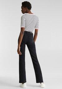 Esprit - Jeans bootcut - black rinse - 2