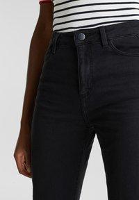 Esprit - Jeans bootcut - black rinse - 3
