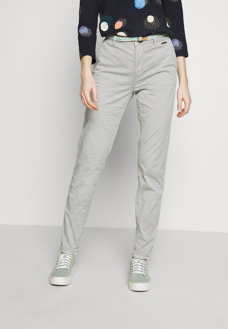 Esprit - SLIM - Chinosy - light grey